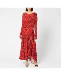 Preen By Thornton Bregazzi Naima Dress - Red