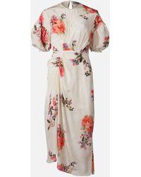 Preen By Thornton Bregazzi Bianca Midi Dress - White