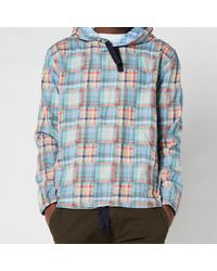 PS by Paul Smith Hooded Overshirt - Blue