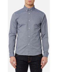 A.P.C. - Men's Chemise Button Down Shirt - Lyst