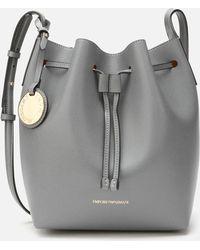 Emporio Armani Bucket Bag - Grey