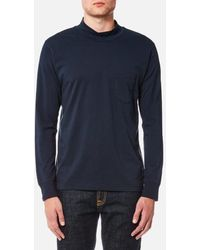 Universal Works - Men's Long Sleeve Turtleneck Top - Lyst