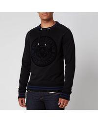Balmain Coin 3d Sweatshirt - Black
