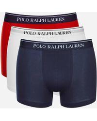 Polo Ralph Lauren - 3 Pack Boxer Shorts - Lyst