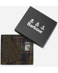 Barbour - Men's Scarf And Glove Set - Lyst