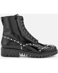 McQ - Women's Bess Derby Boots - Lyst