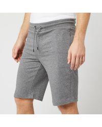 Emporio Armani Bermuda Jersey Shorts - Grey