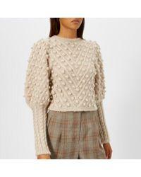 Zimmermann Women's Unbridled Bauble Sweatshirt - Natural