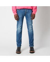 Jacob Cohen J622 White Badge Slim Jeans - Blue