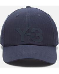 Y-3 Ripstop Cap - Blue