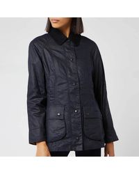Barbour Beadnell Wax Jacket - Blue