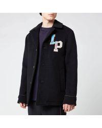 Lanvin Pea Coat - Blue