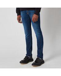 Jacob Cohen J622 Yellow Badge Slim Jeans - Blue