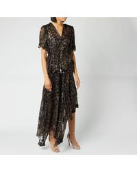 Preen By Thornton Bregazzi Esther Dress - Black