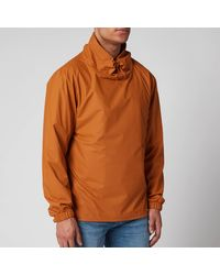 Rains Ultralight Pullover Jacket - Brown