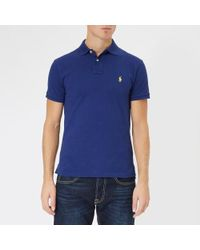 Polo Ralph Lauren - Men's Slim Fit Polo Shirt - Lyst