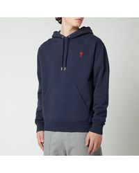 AMI De Coeur Hooded Sweatshirt - Blue