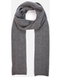 Polo Ralph Lauren Merino Wool Scarf - Grey