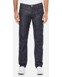 A.P.C. Petit New Standard Mid Rise Jeans - Blue