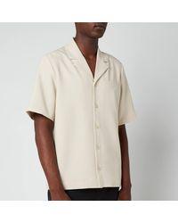 Holzweiler Kia Short Sleeve Shirt - Natural