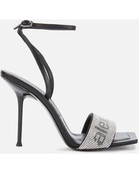 Alexander Wang Julie Barely There Heeled Sandals - Black