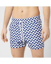 Frescobol Carioca Copacabanana Sports Swim Shorts - Blue