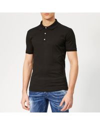 DSquared² Classic Fit Polo Shirt - Black