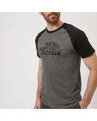 The North Face Raglan Easy Short Sleeve T-shirt - Gray