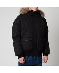 Pyrenex Mistral Fur Collar Jacket - Black