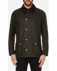 Barbour Heritage Ashby Wax Jacket - Green