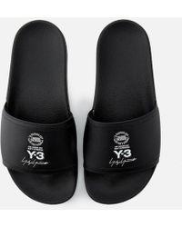 Y-3 - Y3 Adilette Slides - Lyst