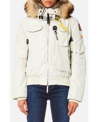 Parajumpers Gobi Masterpiece Coat - White