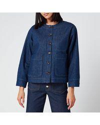 A.P.C. Lucille Jacket - Blue