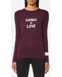 J Brand - Women's Gangs Of Love Jumper - Lyst