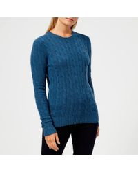 Polo Ralph Lauren - Logo Cable-knit Jumper - Lyst