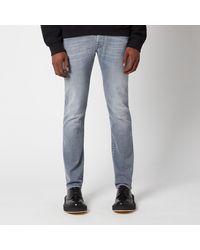 Jacob Cohen J622 Grey White Badge Slim Jeans