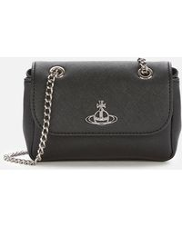 Vivienne Westwood Derby Small Purse With Chain - Black