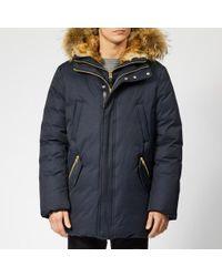 Mackage - Men's Edward Fur Hood Down Jacket - Lyst