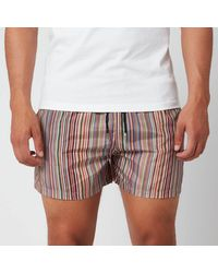 PS by Paul Smith Ps By Paul Smith Signature Stripe Swim Shorts - Multicolour
