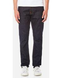 Nudie Jeans Dude Dan Straight Jeans - Blue