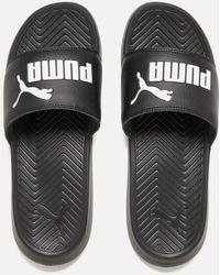 PUMA - Men's Popcat Slide Sandals - Lyst