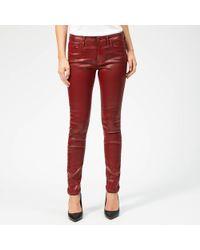 Vivienne Westwood Anglomania Slim Jeans - Red