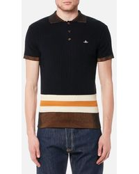 Vivienne Westwood - Men's Knitted Polo Shirt - Lyst