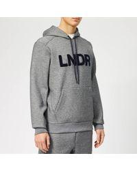 LNDR - Tech Preme Logo Patch Technical Sweatshirt - Lyst