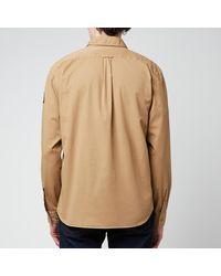 Belstaff Pitch Twill Shirt - Natural