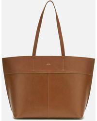 A.P.C. Totally Tote Bag - Brown
