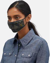 COACH Rexy Wild Beast Camo Face Mask - Black
