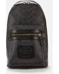 COACH Academy Backpack - Black