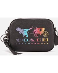 COACH Camera Bag With Rexy And Carriage - Black