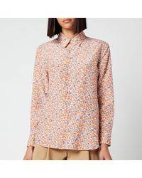 A.P.C. Gina Shirt - Orange